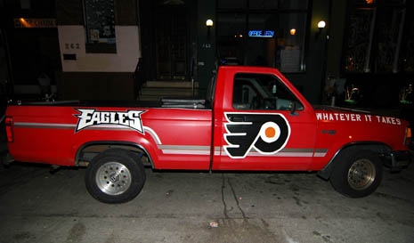 philadelphia fan truck