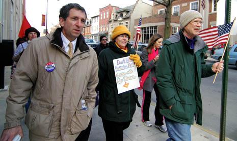chuck pennacchio and activists