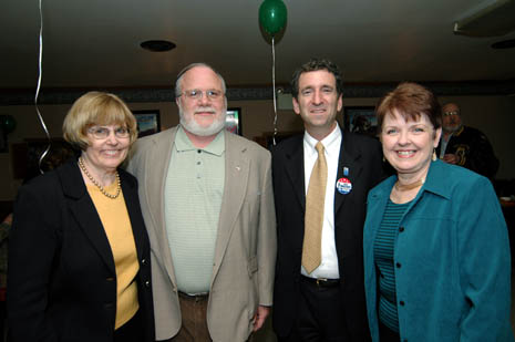 chuck pennacchio at Guy Bard St. Patrick's Day Dance at the Reinholds VFW along with Lois Herr, Lee Heffner, and Ginny Dillio