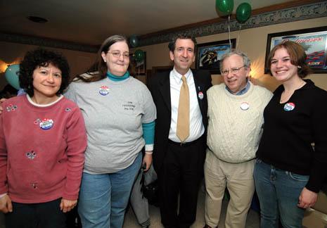 chuck pennacchio with lancaster volunteers