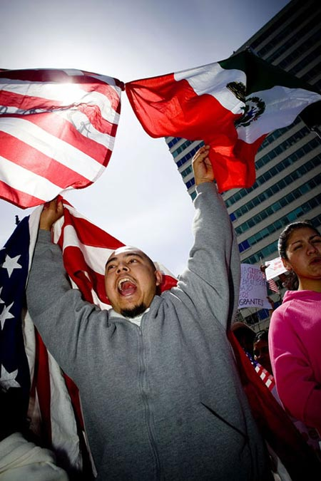 by jeff fusco - immigration rally, philly