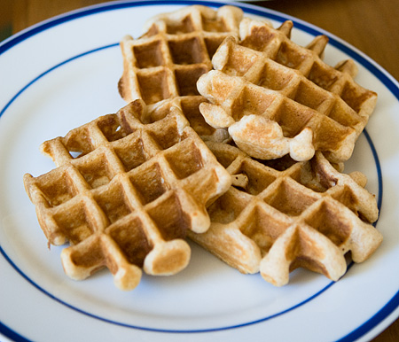 Waffle iron cracker recipes